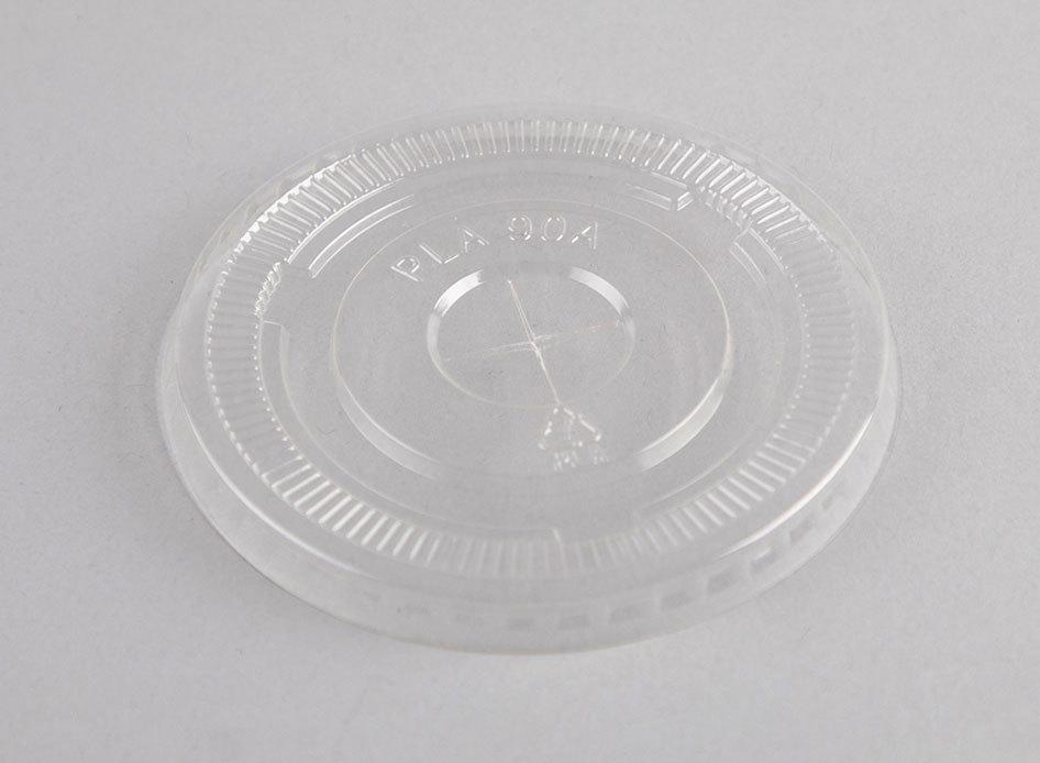Clear Enviroware 12/16oz PET flat lid - Coastal