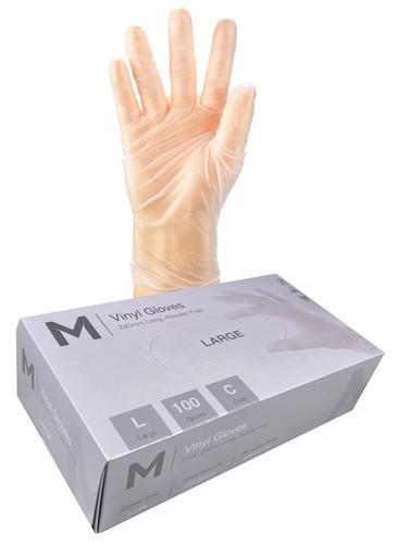 Vinyl Gloves PowderFree LARGE- Matthews