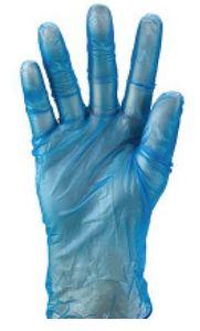 Vinyl Gloves PowderFree Blue SMALL - Matthews