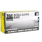 Nitrile Black Premium PowderFree LARGE - Box of 100 -TGC