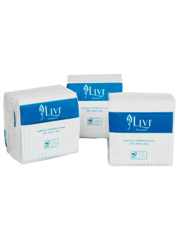 Interleaf Toilet Tissue - Livi Essentials