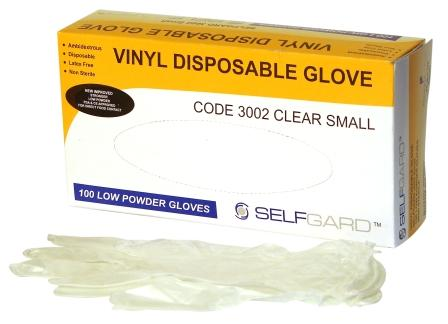 Vinyl gloves - Powdered - Selfgard