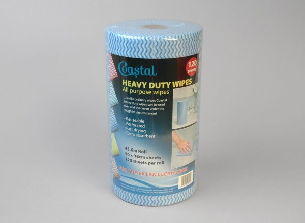 Cleaning wipes Heavy Duty Blue - Coastal
