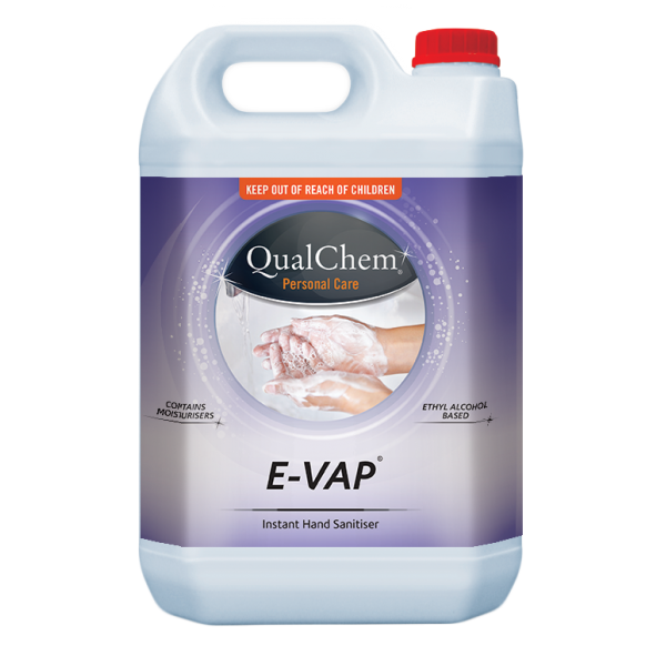 Hand Sanitiser Alcohol Gel Evap 5Litres - Qualchem