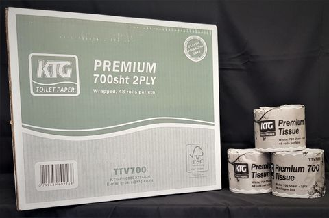 KTG Toilet Paper 700sh 2ply