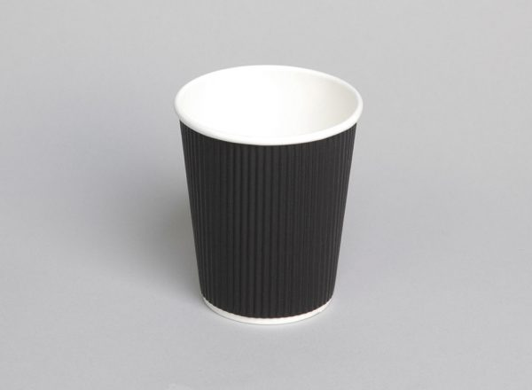 Hot Cup 8oz Ripple - Coastal