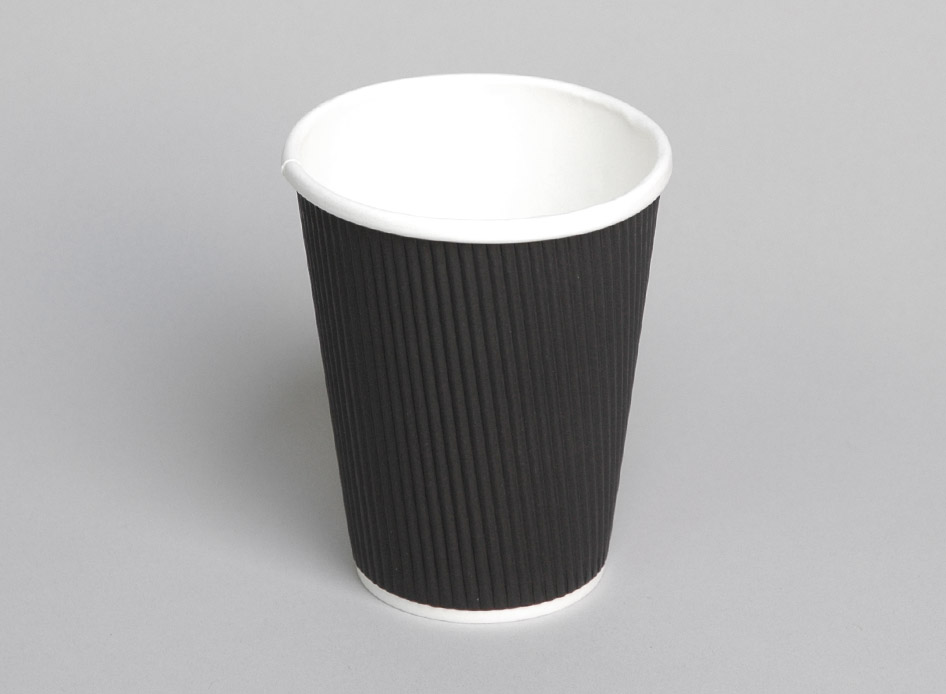 Hot Cup - 12oz Ripple - Coastal