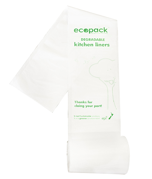 Office Bin Liner HD 27L Degradable - EcoPack