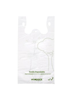 Checkout bag Degradable Medium - EcoPack