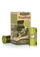 Dog Waste Bags Rolls Degradable - Earth Rated EcoBags