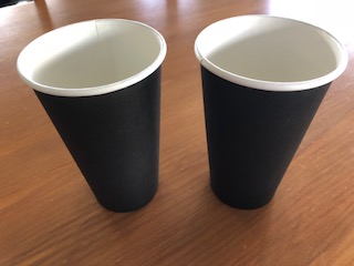 Spot the difference - coffee cups