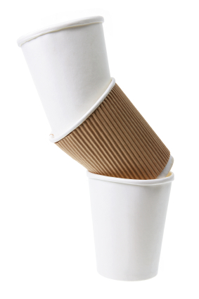 Biodegradable cups, plates, trays, cutlery